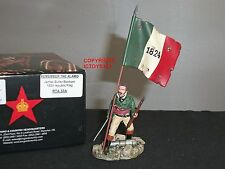 KING AND COUNTRY RTA33A ALAMO JAMES BUTLER BONHAM 1824 REPUBLIC FLAG TOY SOLDIER