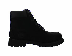 Kids-Timberland-6-Inch-Premium-Waterproof-Boot-Black-Nubuck-12907