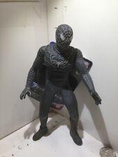 "Bandai Spiderman 3 Pvc Vinyl Action Figure Black Costume 6.7"" + Tag"