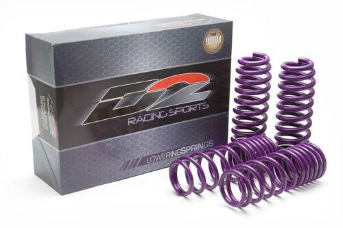 Honda Fit Drop Front 1.5 Rear 1.5 D2 Racing Lowering Springs Suspension JAZZ 09