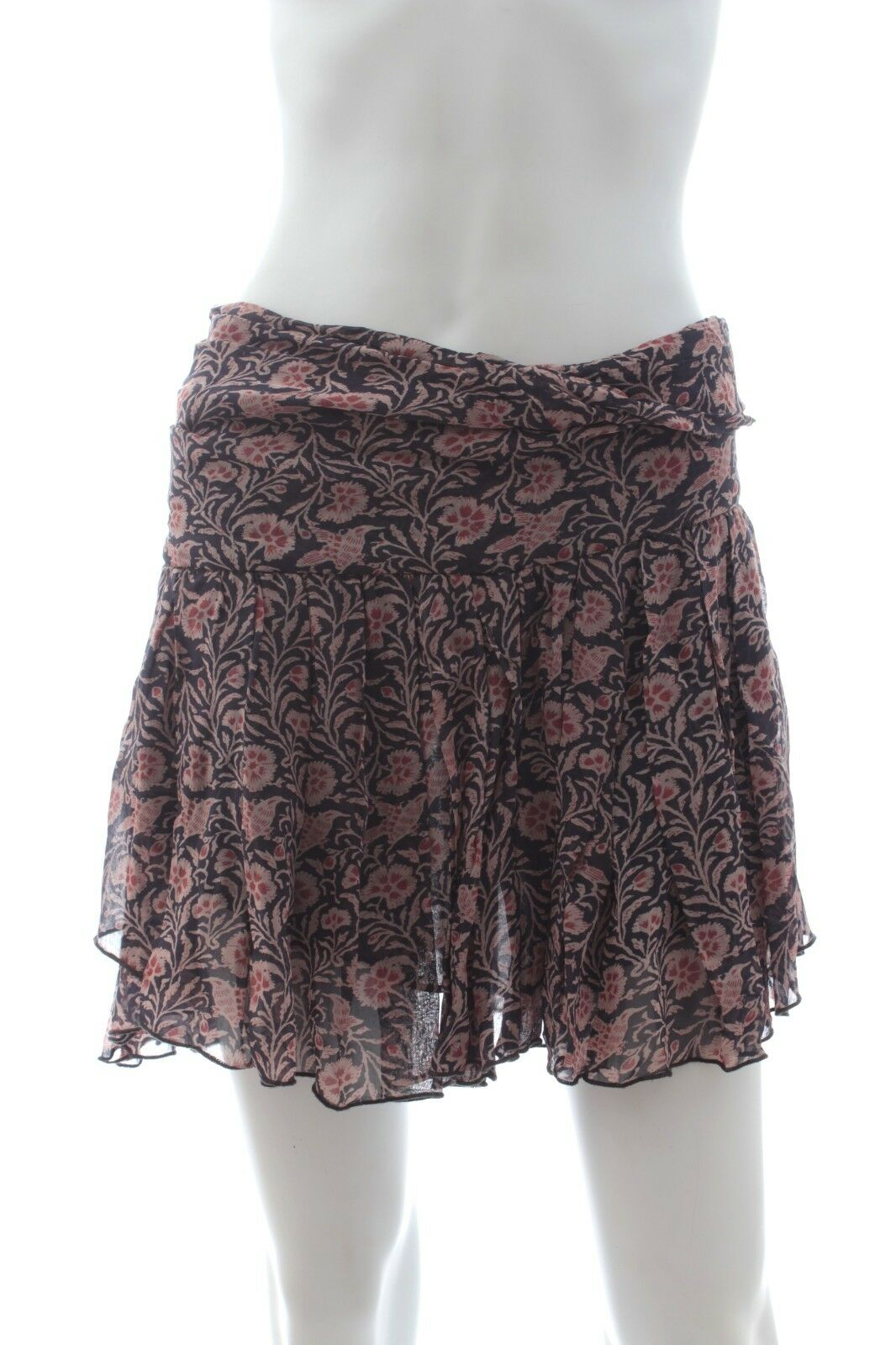 Isabel Marant Etoile 'Drune' Printed Mini Skirt   Multi   RRP  .00