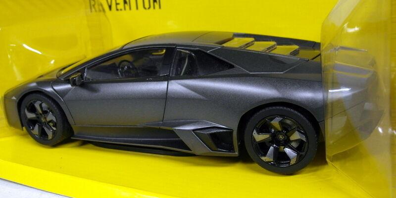 Mondo 1 18 18 18 escala 50040 Lamborghini Reventon Matt Negro Coche Modelo Diecast e23a70