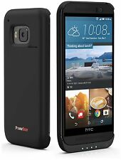 PowerBear HTC ONE M9 Battery Case 3200mAh Rechargeable Extended Extra Charger