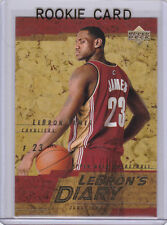 LeBRON JAMES ROOKIE CARD Cleveland Cavaliers 2003 NBA DRAFT PICK Basketball RC!
