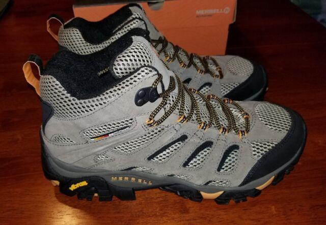 5ebfdbb2208 Merrell Moab 2 Ventilator Mid Hiking Boot Walnut Size Men US 11 Wide