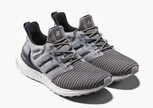 5a281acc062 Undefeated x Adidas Ultra Boost Grey 4.5-13 Clear Onix Core Black ...