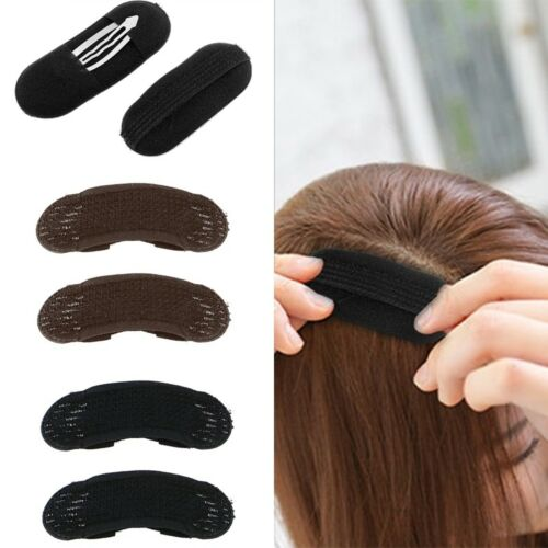 2 pcs Hair Volume Increase-Sponge Invisible Pad Bump Foam Puff Insert Base Clips