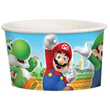 8 Super Mario Bros Gaming Birthday Party 9.5oz Paper Treat Cups