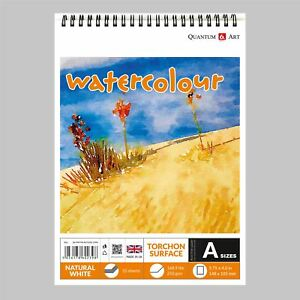Watercolour-TORCHON-Surface-Pad-Drawing-Artist-Paper-on-Spiral-Book-250gsm