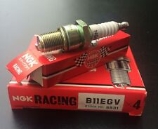 4 x NGK Racing Tuning Zündkerze B11EGV, B 11 EGV, 5831, Kart, Crosser, MX