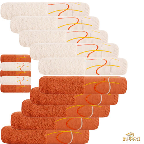 duschtuch gant de lavage 50 x 30 CM seiftuch gästetuch 10 pièce serviette