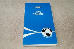 owners manual booklet   ford taurus oem  gl lx
