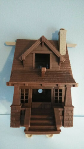 """Choose Main Color! 9/"""" 23cm Bungalow Estate Bird House 3D Printed in USA"""