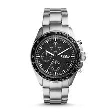 FOSSIL Uhr CH3026 SPORT 54 Herren Edelstahl Silber Armbanduhr Chronograph Datum