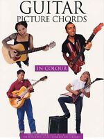Guitar Picture Chords In Color Sheet Music Book 014013520