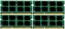 NEW! 32GB 4X8GB PC3-12800 DDR3-1600MHz MEMORY Lenovo ThinkPad W530 (Quad Core)