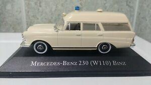 Mercedes Benz 230 W110 1966 1//43 Ambulance ED