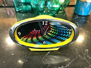 Vintage-Style-Colorful-Retro-Alarm-Clock-Metal