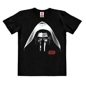 Star-Wars-Ben-Solo-Kylo-Ren-Film-T-shirt-Bio-Enfant-noir-LOGOSHIRT