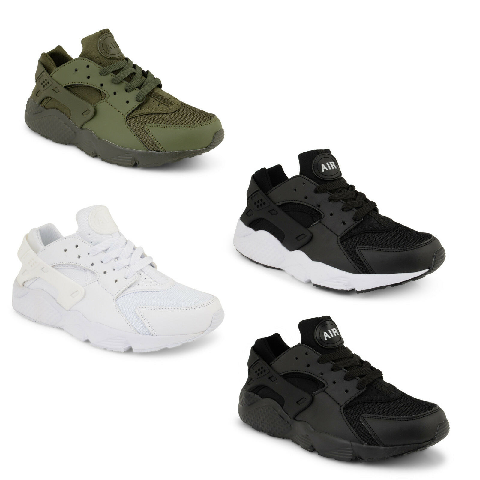Mens Running Trainers Shoes Fitness Gym Sports Casual Hurache Inspired Shoes Trainers Size UK c14afa