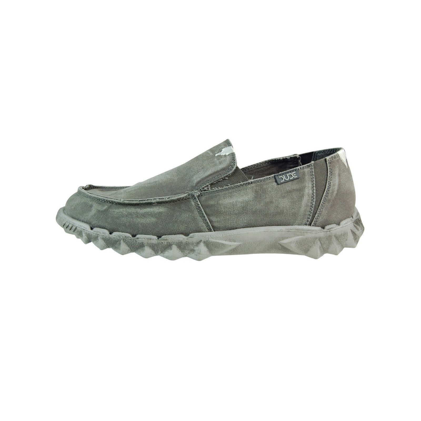 Hey Dude shoes Mens Fur Lined Farty Chalet Washed Dark Grey