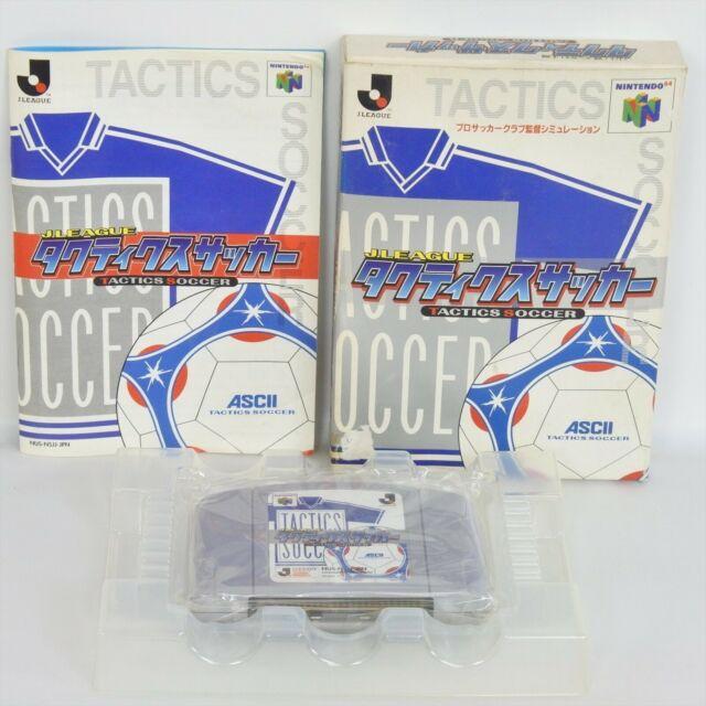 TACTICS SOCCER J League Nintendo 64 ccc n6