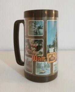 Rare-Vintage-Disney-World-Thermal-Thermo-Serve-Cup-Beaker-Tankard-Theme-Park