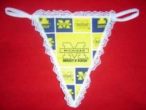 University Of Michigan Thong Panties Pics