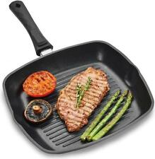 Andrew James Griddle Pan Large Non-Stick Grill Induction Hob Compatible