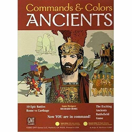 Command and Farbes Ancients 2012 2012 2012 Reprint Board Game New & Sealed b0c865