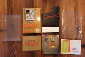NES The Legend of Zelda inkl. OVP und Anleitung