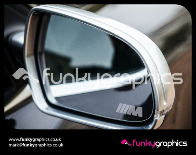 Bmw M Sport Small Symbol Mirror Decals Stickers Graphics X3 In