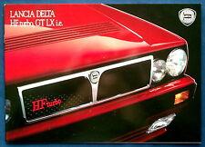 Prospekt brochure Lancia Delta HF Turbo,GT LX i.e.  (CH, 1991)