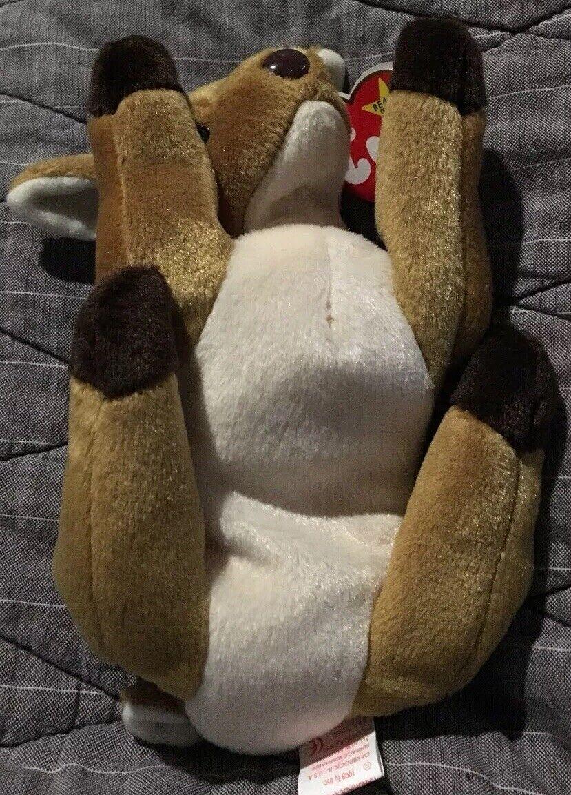 Beanie Babies Whisper ERRORS ERRORS ERRORS 1997 1998 Ty Rare ORIGINAL OWNER Retired Baby Bear 1a0a71
