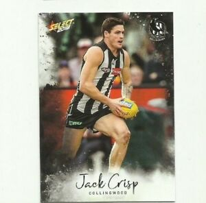 Details about 2018 select FOOTY STARS COLLINGWOOD #44 JACK CRIPS COMMON  CARD FREE POST