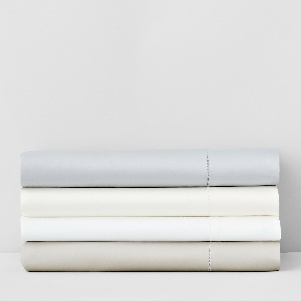 Sferra Giotto 610 TC Egyptian Cotton TWIN Fitted Sheet bianca Bedding  280 D3035