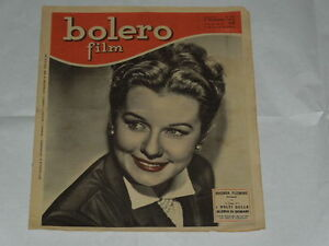 BOLERO BOLERO FILM DEL 6/11/1949-RHONDA FLEMING-MAGDA GONNELLA-GINA SAMMARCO-LUC - Italia - BOLERO BOLERO FILM DEL 6/11/1949-RHONDA FLEMING-MAGDA GONNELLA-GINA SAMMARCO-LUC - Italia