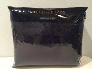 Ralph Lauren Wyatt Polo Navy Blue Full / Queen Quilted Coverlet | eBay : ralph lauren wyatt quilted coverlet - Adamdwight.com