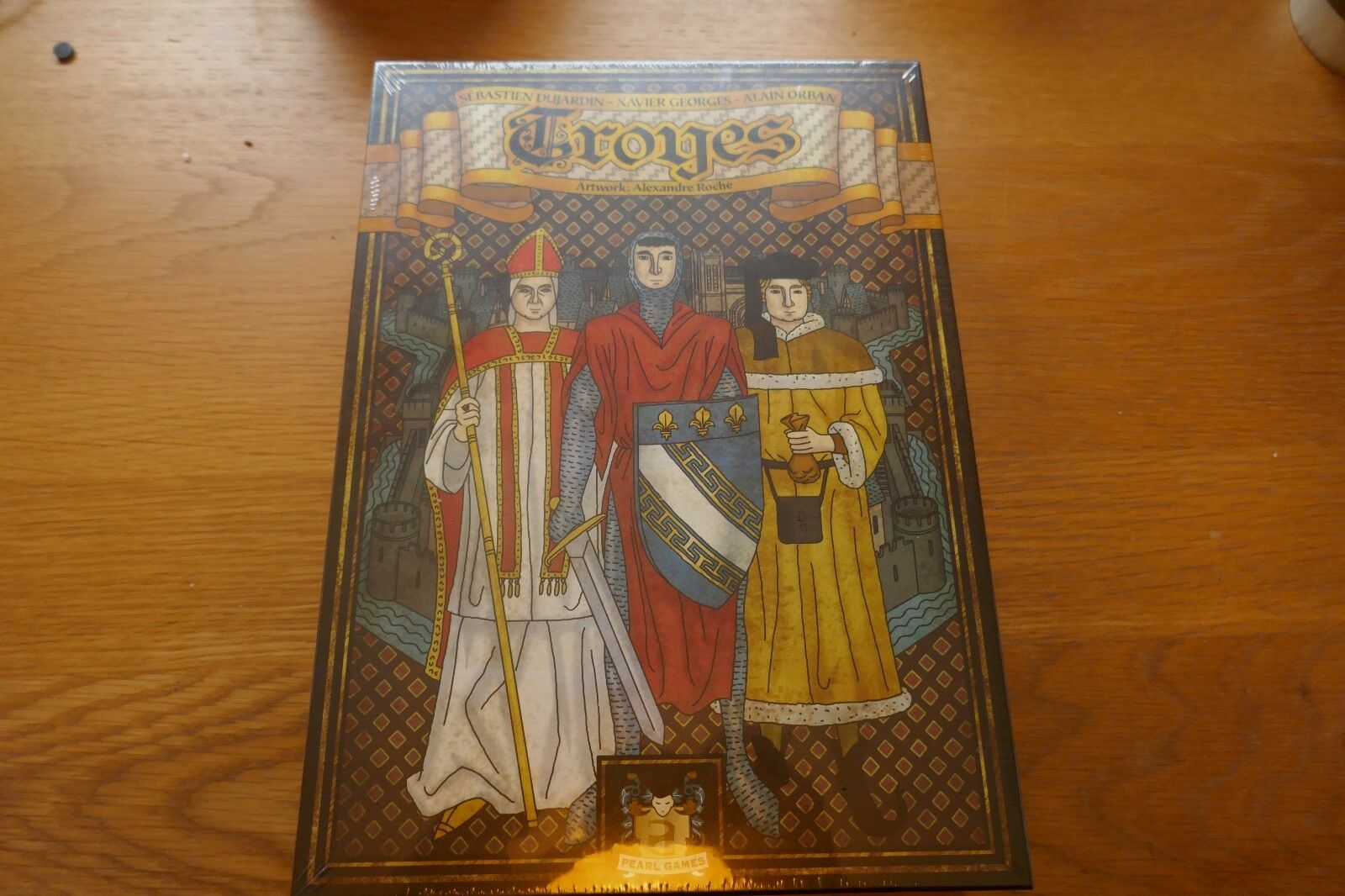 Troyes board game new in shrink