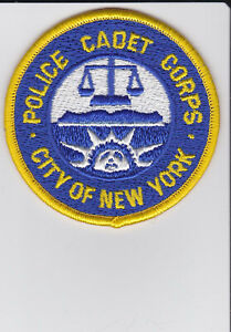NYPD Police Cadet Corps - 2 Patch Set -