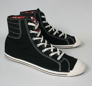 ad7dd7c83481a7 Women s CONVERSE All Star SLIM HIGH TOP Black Trainers Boots SIZE UK ...