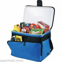 Arctic Zone 30-can Zipperless Hardbody® Insulated Royal Cooler Bag - Blue