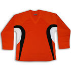 Orange Hockey Jersey DRY FIT EDGE INSPIRED DJ200