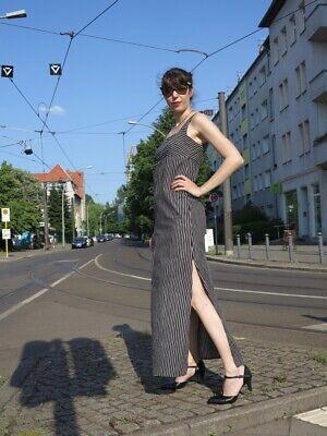 Sigikid Pressione Donna Abito 36 Cotone A Strisce 60er Truevintage Women's Dress-