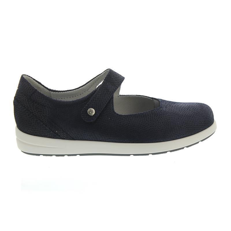 Wolky Electric, Ballerina, Goya leather, bluee 02421-20800