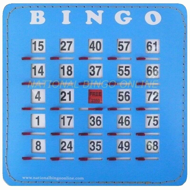 Easy Slide Bingo Obturateur cartes (50 Count)