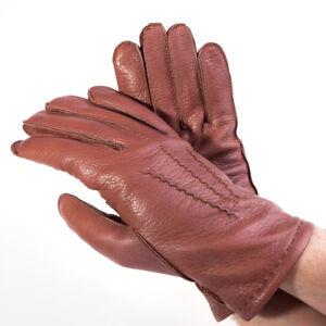 d0d1ed03b0aa91 Das Bild wird geladen Seeger-Herren-Hirschleder-Handschuhe-CHRONOS-in-braun -alle-