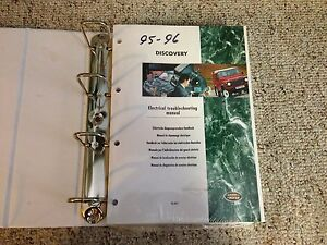 image is loading 1995-1996-land-rover-discovery-electrical-wiring-manual-