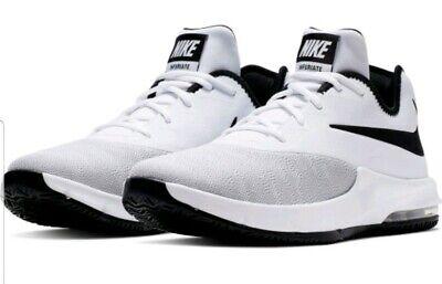 Nike Air Max Infuriate III Low Blanc Homme Chaussures AJ5898 100 UK 12 EUR 47.5 US 13   eBay