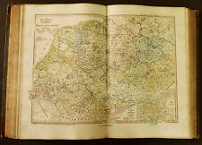 1854c,SPRUNER ATLAS:GERMANIA-DEUTSCHLAND.TAV.VI.SAXONIA.LOTHARINGIA INF. .ETNA